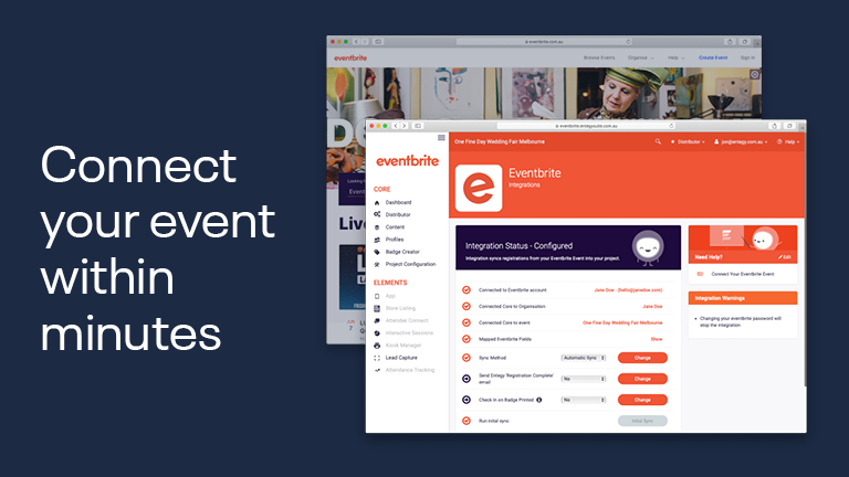 Connect your site within minutes