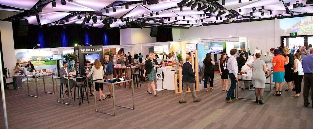 The PCOA 2016 exhibition space