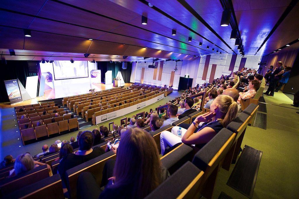 PCOA 2016 auditorium