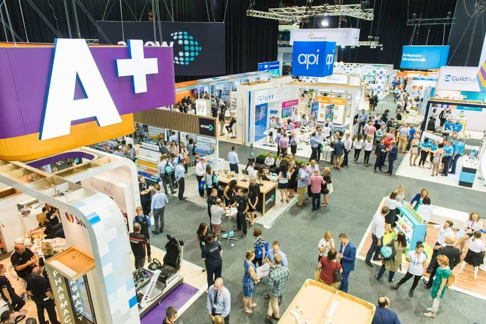 Australian Pharmacy Professional Conference and Exhibition from above