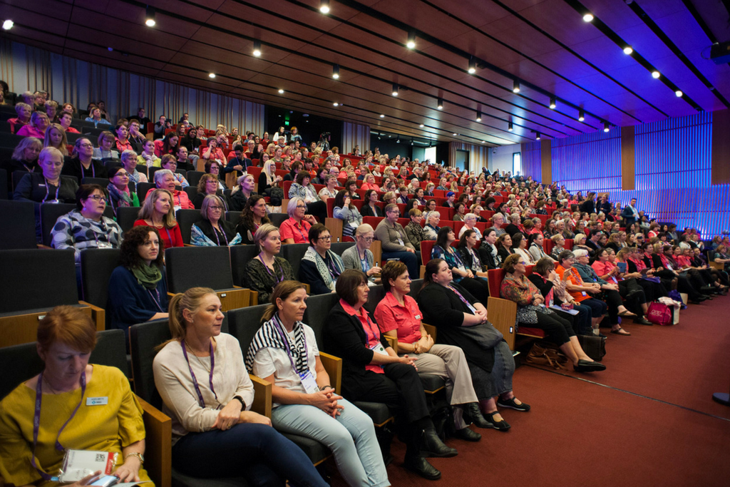 conference delegates at the brisbane convention centre