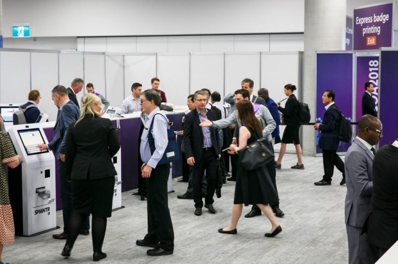 delegates at WCOA event
