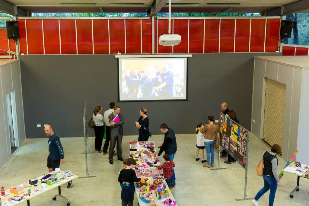 Exhibitors at event
