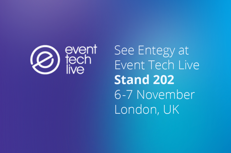 See Entegy at Event Tech Live