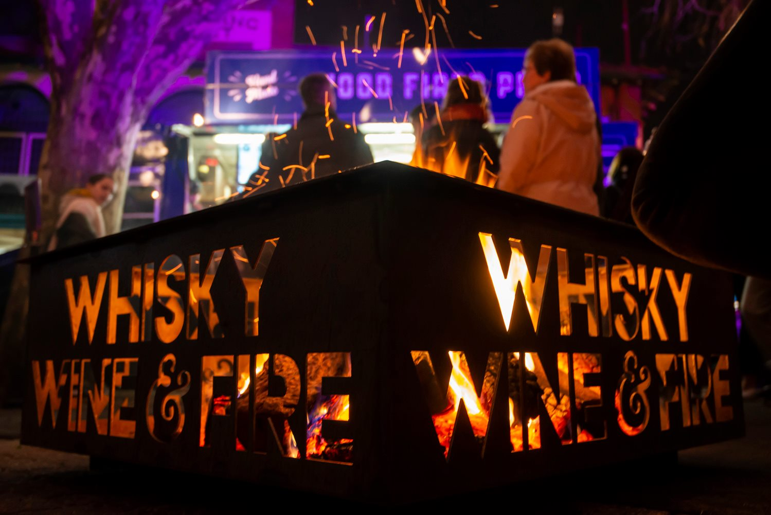 whiskey wine and fire event