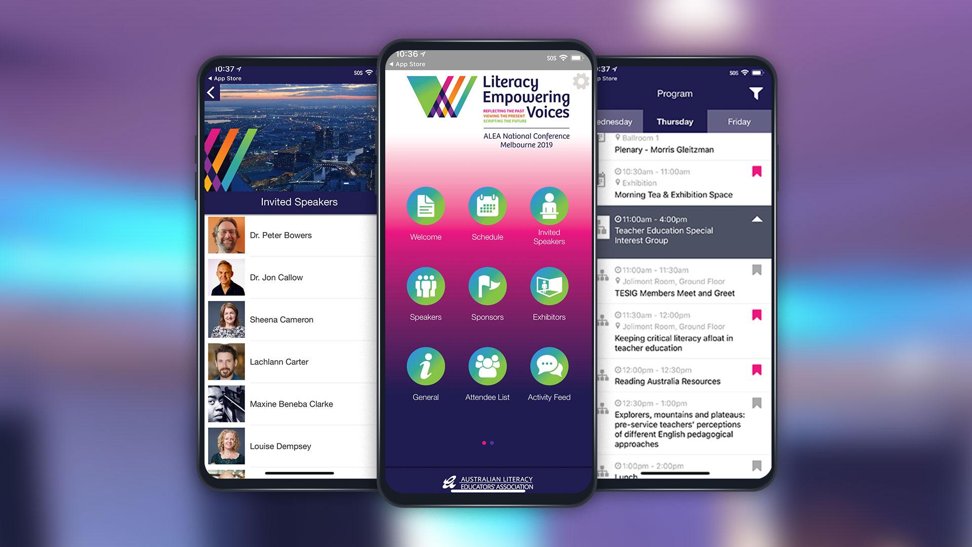 ALEA mobile app