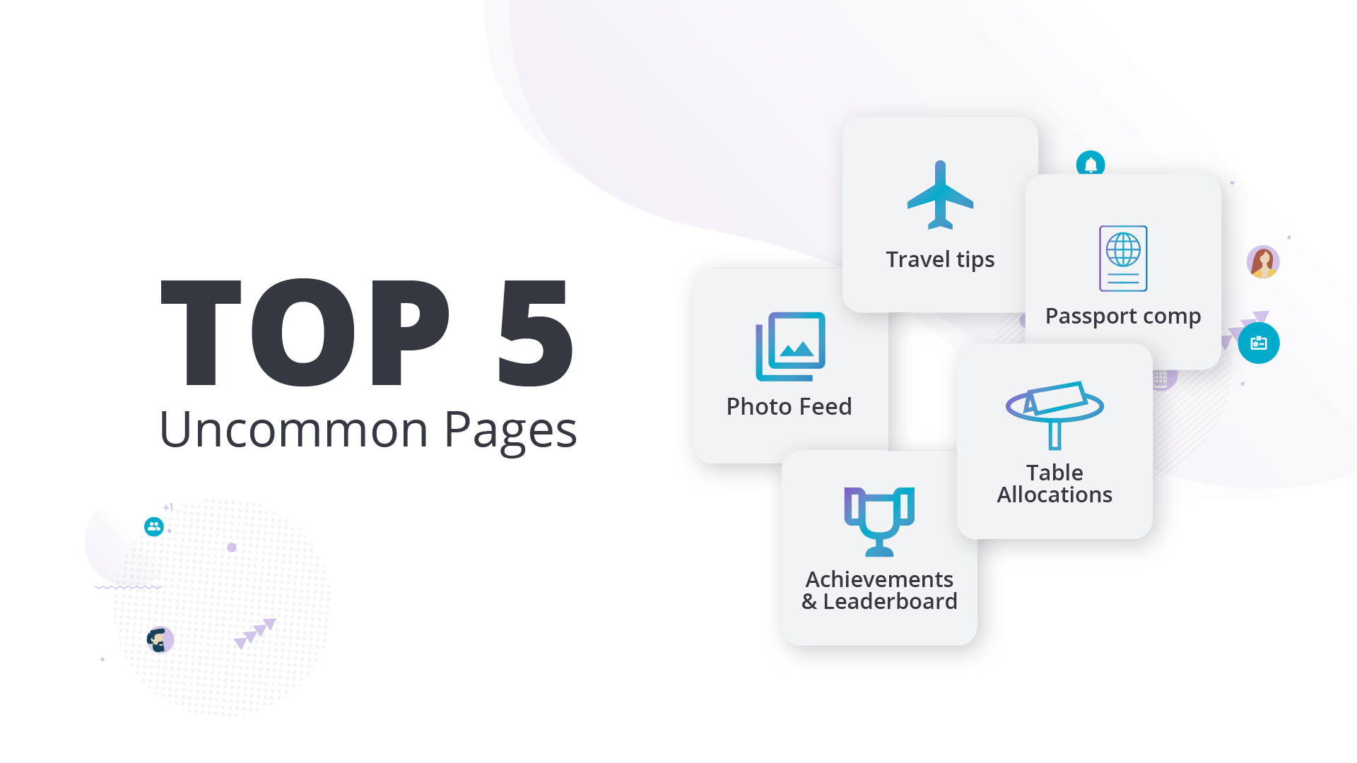 top 5 uncommon event pages