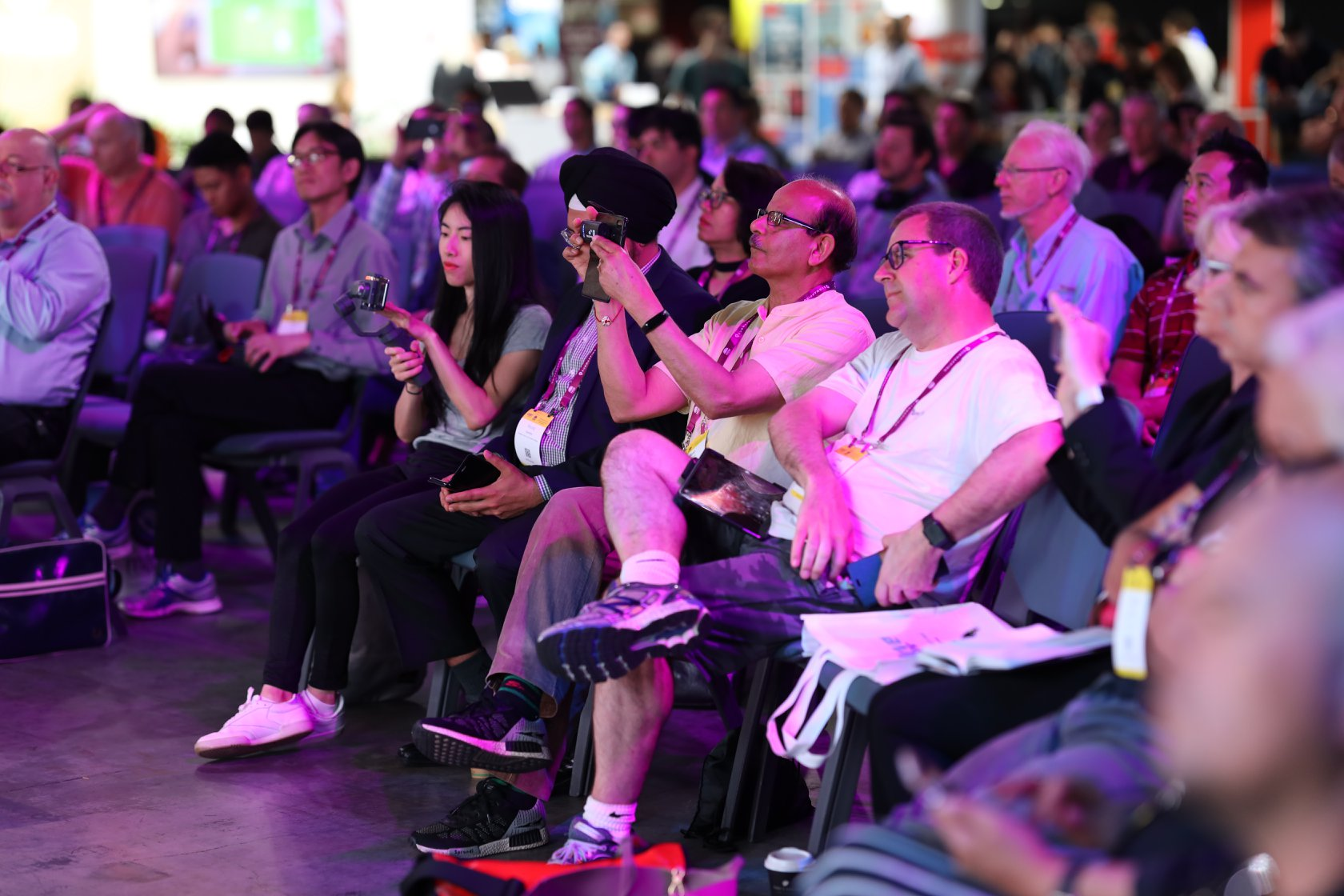 delegates in session at cebit conference
