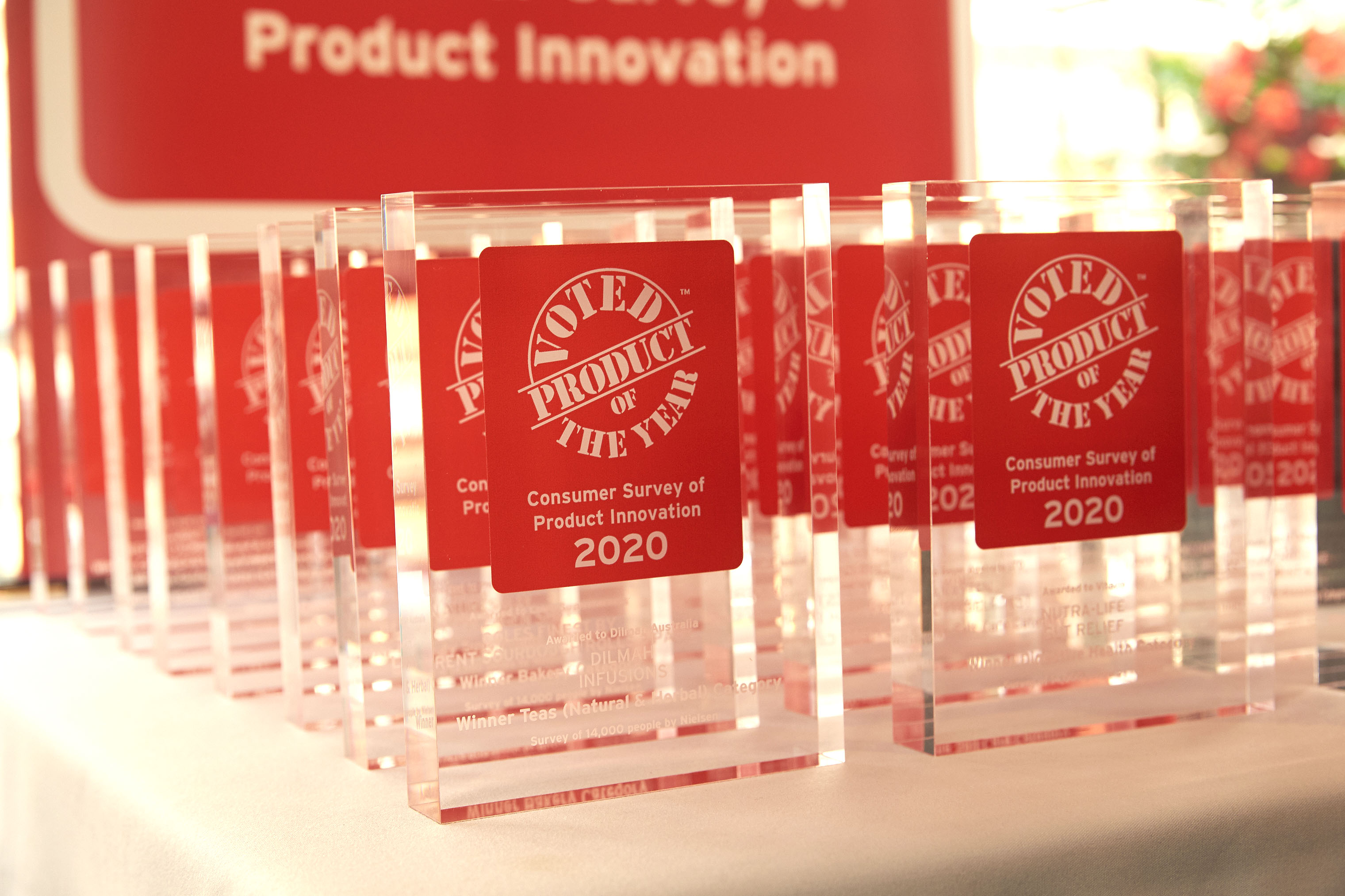 Australian product of the year awards trophy