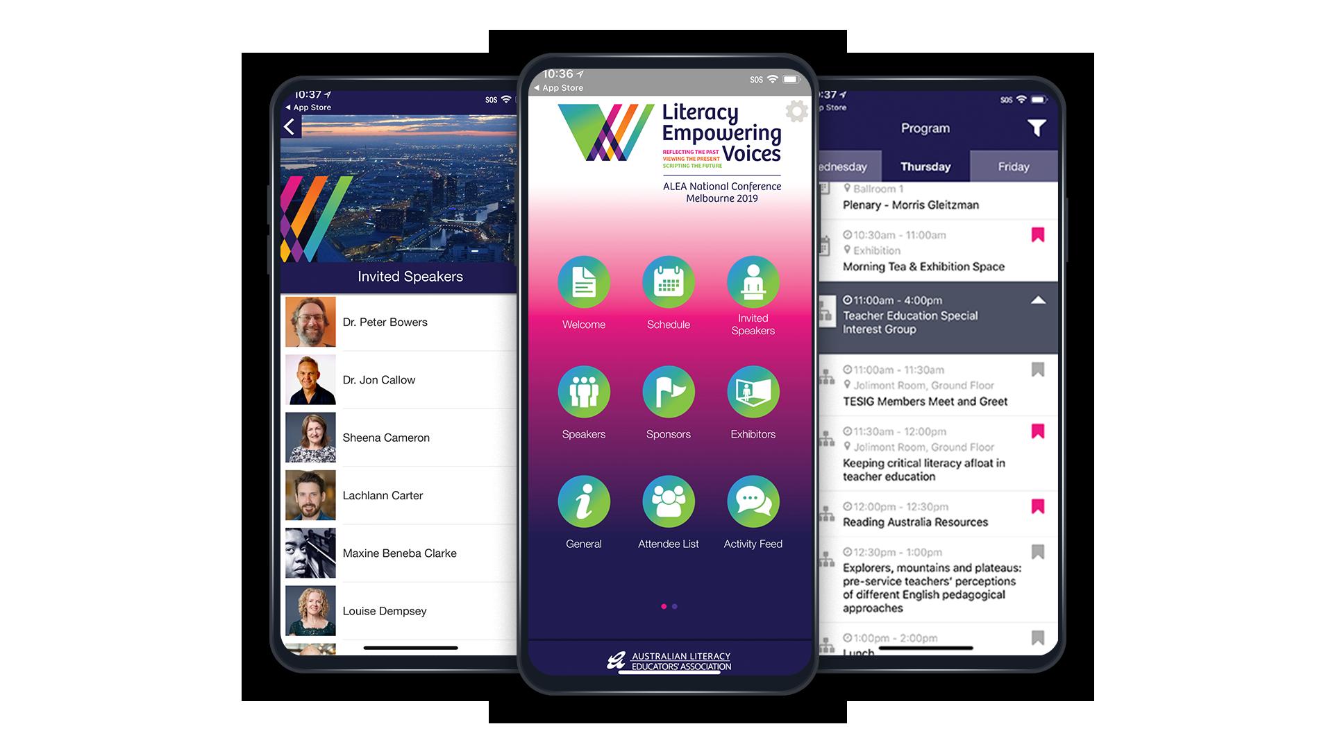 alea event app