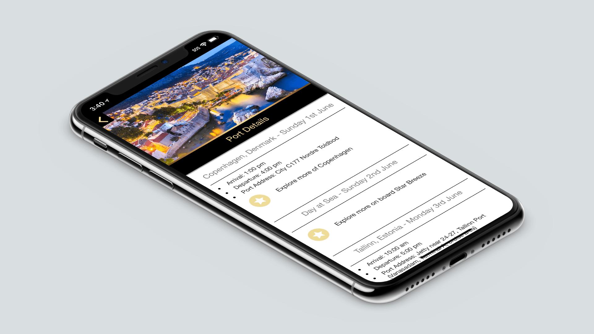 luxury app tour details page