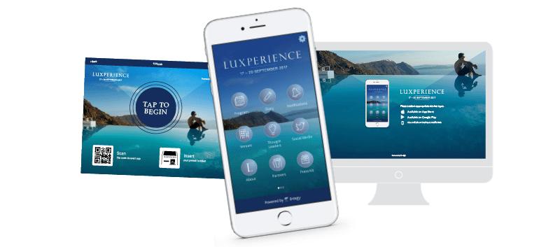 luxperience app design